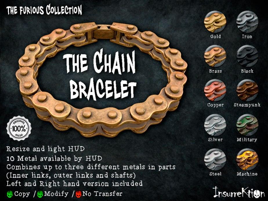 [IK] The Furious Collection - The Chain Bracelet Vendor