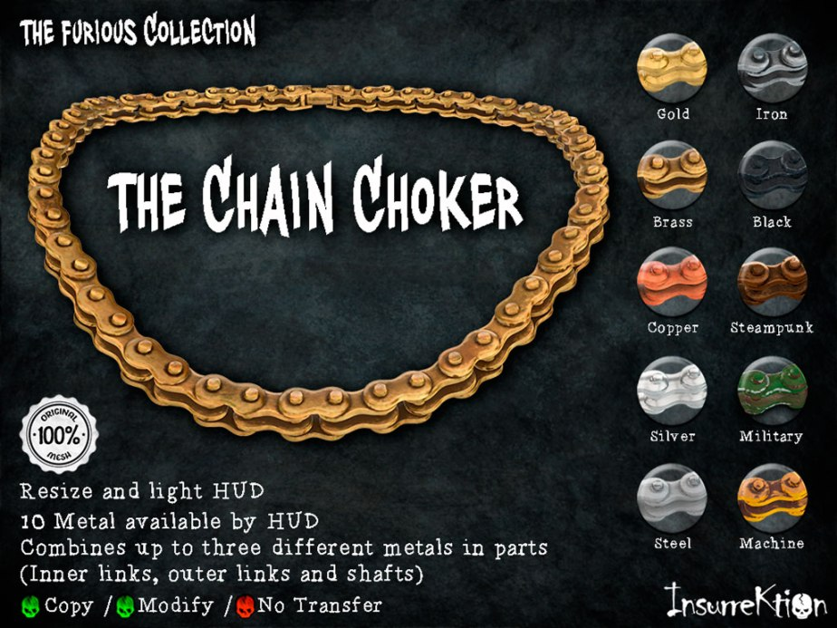 [IK] The Furious Collection - The Chain Choker Vendor