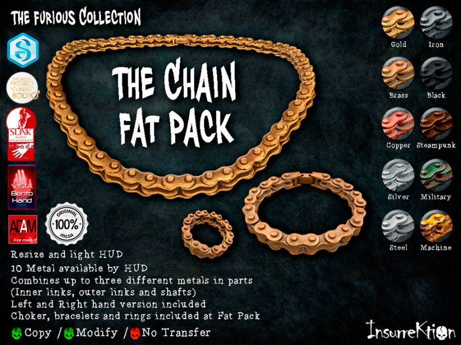 [IK] The Furious Collection - The Chain Set Vendor