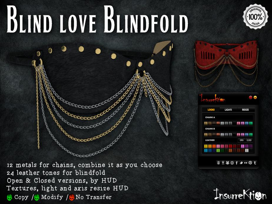 [IK] Blind Love Blindfold AD