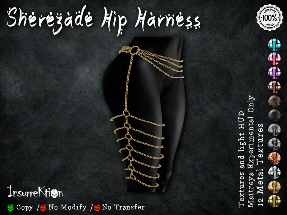 [IK] Sherezade Hip Harness AD