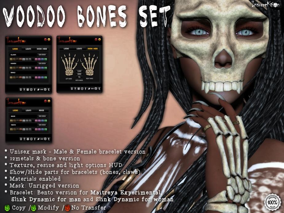 [IK] Voodoo Bones Set AD
