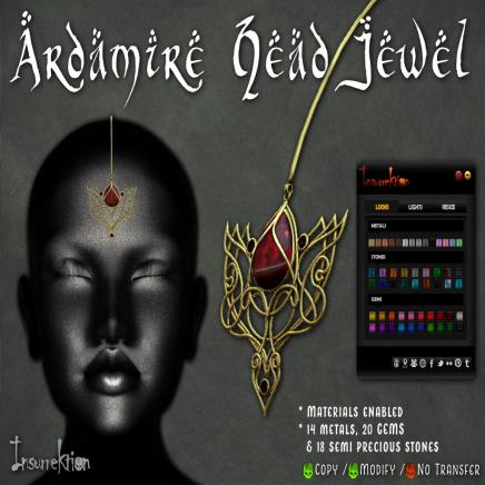 [IK] Ardamire Head Jewel AD