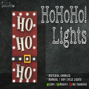 [IK] HoHoHo! Lights AD