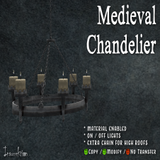 [IK] Medieval Chandelier AD