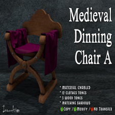 [IK] Medieval Dinning Chair A AD