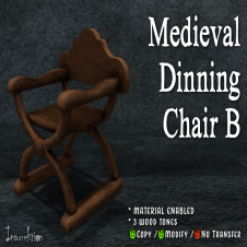 [IK] Medieval Dinning Chair B AD
