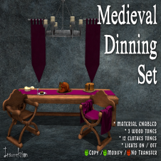 [IK] Medieval Dinning Set AD