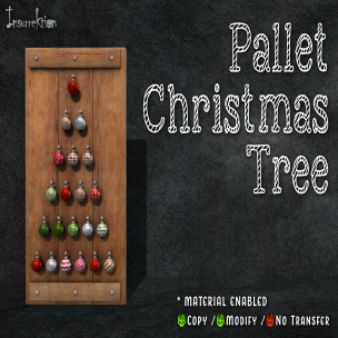 [IK] Pallet Christmas Tree AD