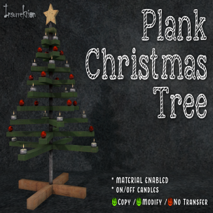 [IK] Plank Christmas Tree AD