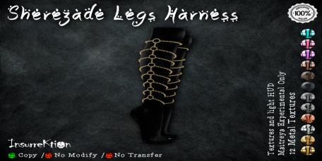 [IK] Sherezade Legs Harness AD