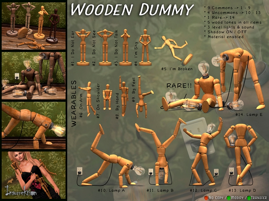 [IK] Wooden Dummy Gacha - Key